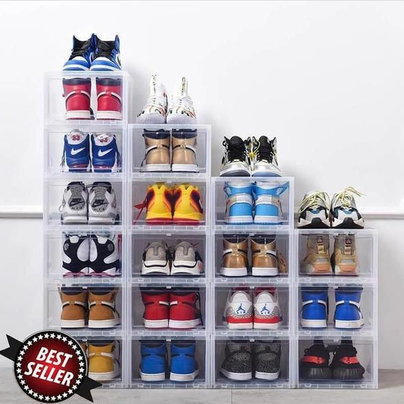 (Last day-50% OFF)Drawer Type Shoe Box--Over 8 PCS Free Shipping