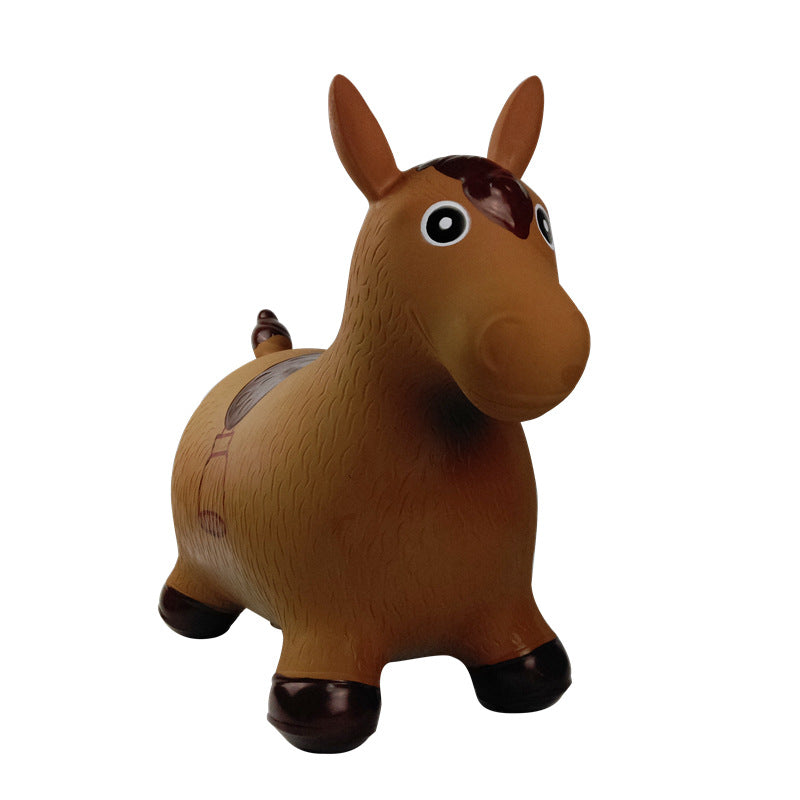 inflatable vaulting horse music riding toys