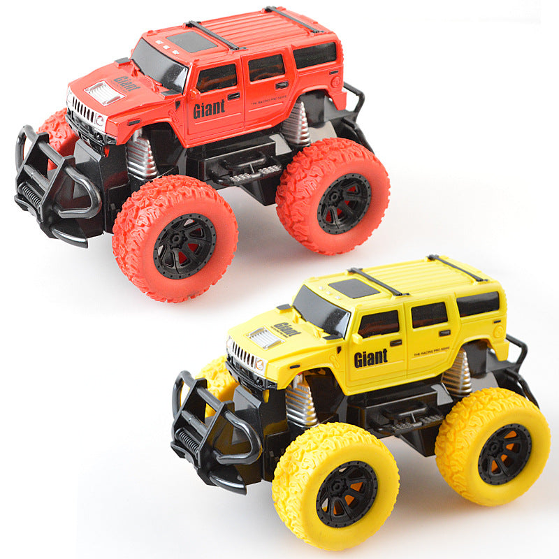 Factory direct simulation four-way wireless remote control car children's mini toy car