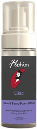Flohim Face & Beard Foam Wash 150ml Hair Oil  (150 ml)