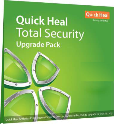 Quick Heal Upgrade Total Security 5 User, 1 Year