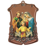 Saint St Joseph Saint mary and Jesus Child Icon of wood