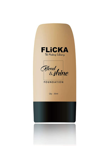 FIiCKA's - Blend & Shine Foundation with SPF (Ivory) Brand: FLiCKA