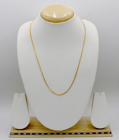 Gold Plated Brass Chain(JCD20)