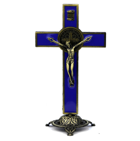 Jesus Christ Holy Cross Metal Statue for Car Dashboard(MK-157)