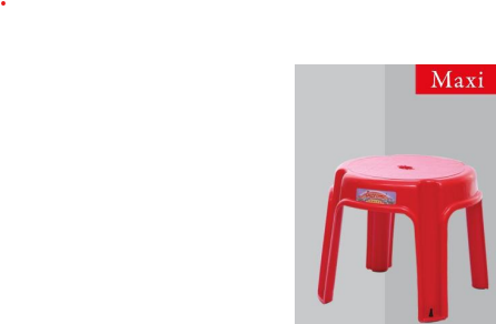 SUPREME MAXI STOOL FOR HOME