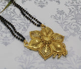 Gold plated Desing Flower Shaped Mangalsutra (MSD4)