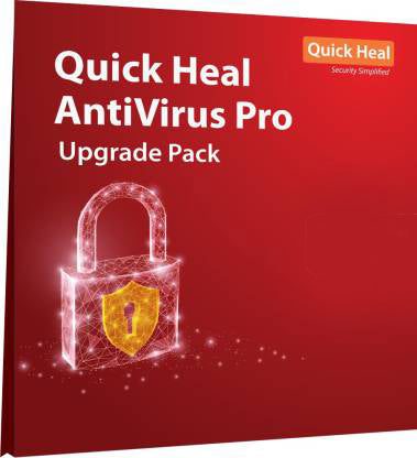 Quick Heal Antivirus Pro upgrade pack  5 User  for 1 Year