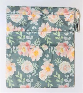 Floral Double Pocket Wet Bag