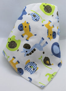 Blue Animals Bib