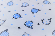 Load image into Gallery viewer, Blue Whales Burp Cloth