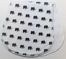 Load image into Gallery viewer, Elephant Burp Cloth