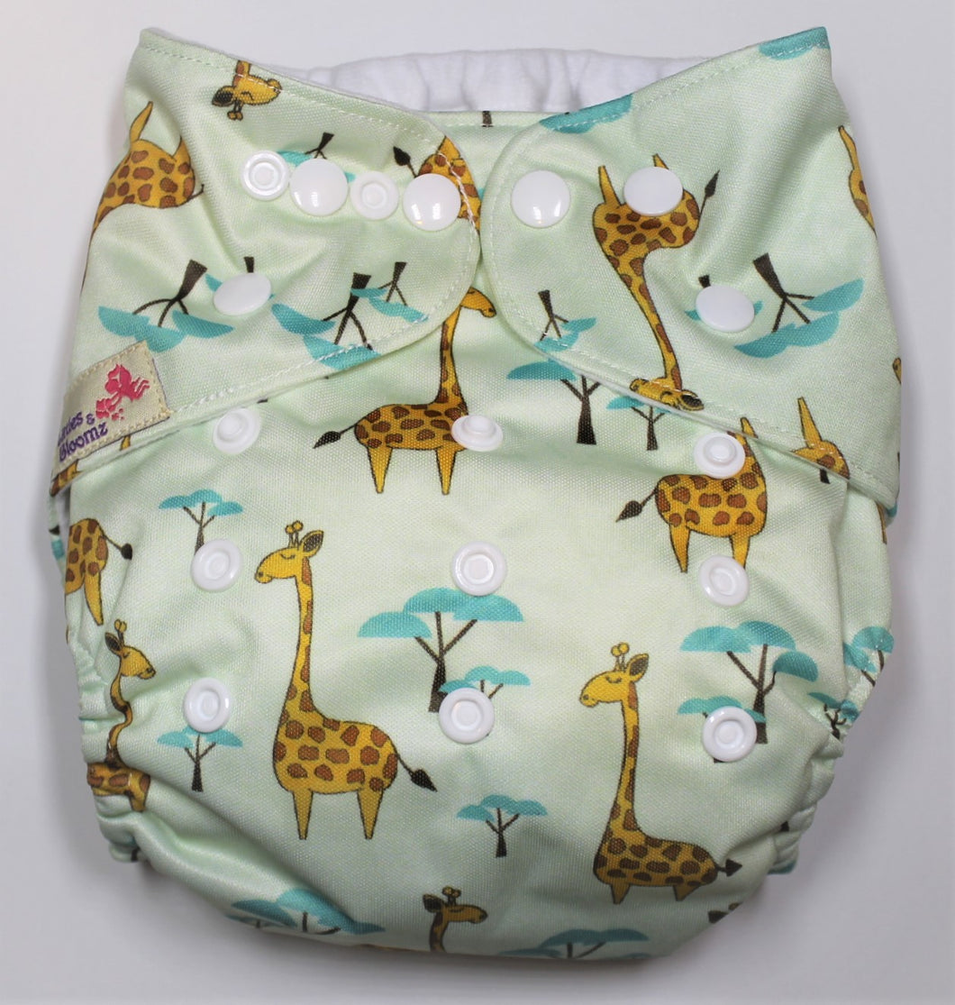 Giraffe Modern Cloth Nappy