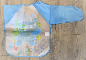 Hippo Long Sleeve Bib