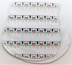 Little House Burp Cloth
