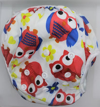 Load image into Gallery viewer, Red Owl Swim Nappy