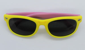 Yellow & Pink Sunglasses
