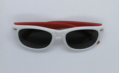 White & Red Sunglasses