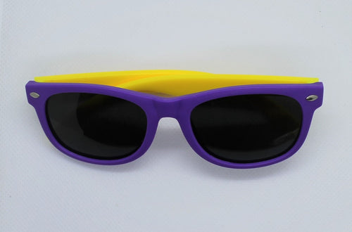 Purple & Yellow Sunglasses