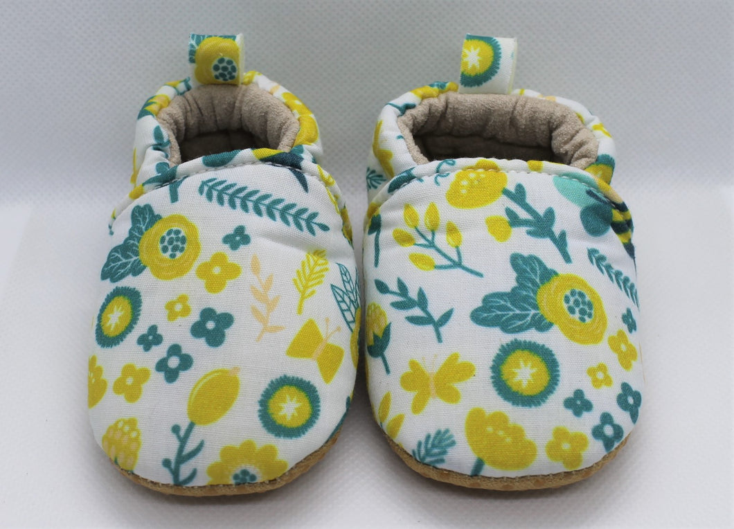 Yellow Flower Shoes