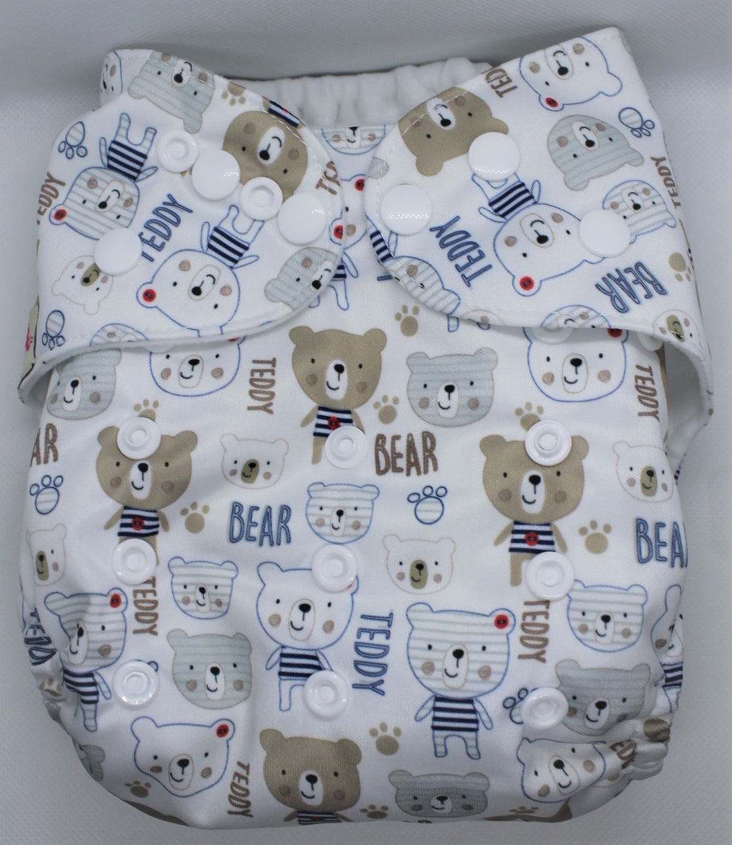 Teddy Bear Modern Cloth Nappy