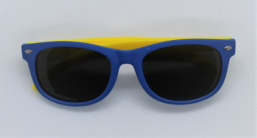 Blue & Yellow Sunglasses