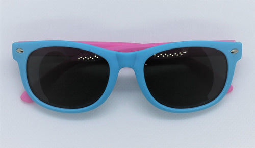 Blue & Pink Sunglasses