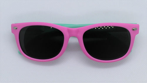 Pink & Teal Sunglasses