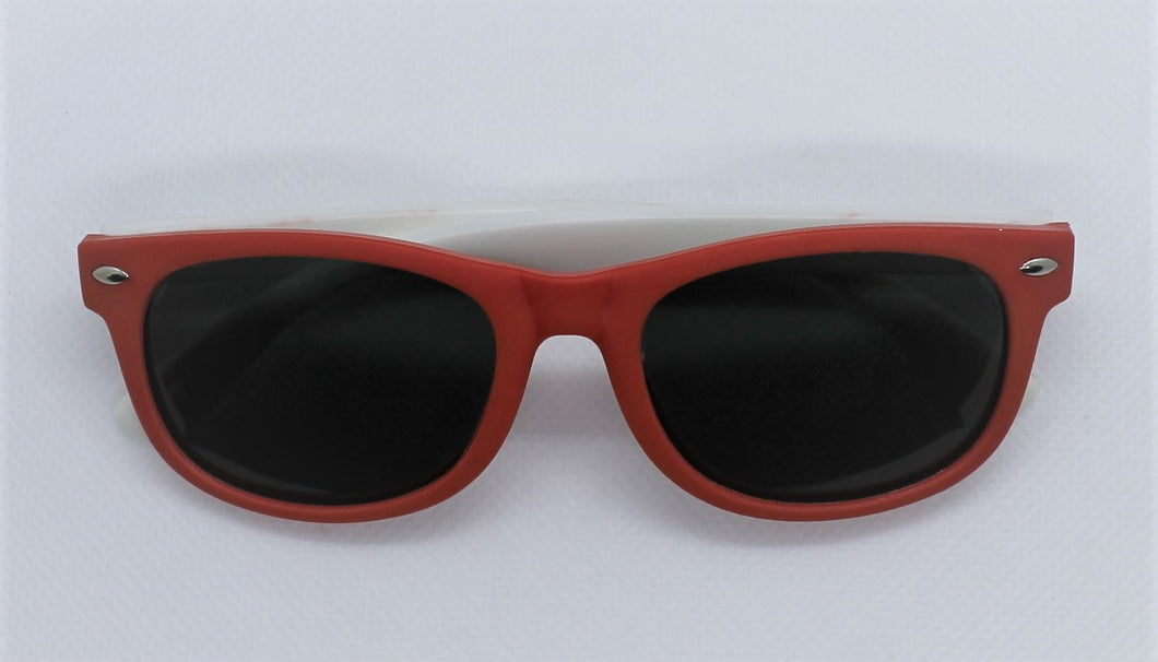 Red & White Sunglasses