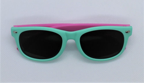 Teal & Pink Sunglasses