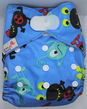 Load image into Gallery viewer, Monster Hook & Loop Modern Cloth Nappy