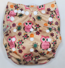 Load image into Gallery viewer, Pink Owl Modern Cloth Nappy