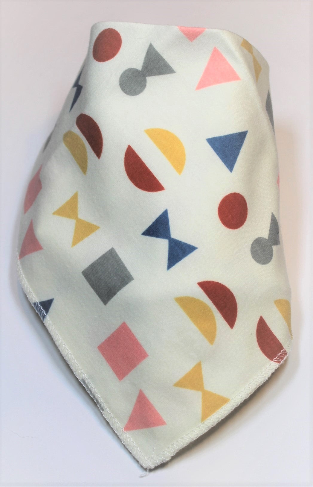 Colourful Shapes Bib