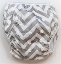 Load image into Gallery viewer, Grey Swim Nappy