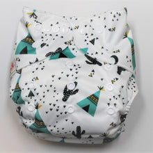 Load image into Gallery viewer, Teepee Modern Cloth Nappy