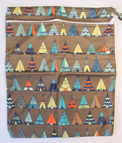 Teepee Double Pocket Wet Bag