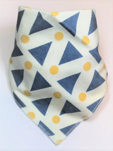 Blue Triangle Bib