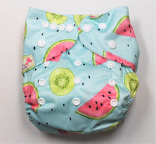 Load image into Gallery viewer, Watermelon Modern Cloth Nappy
