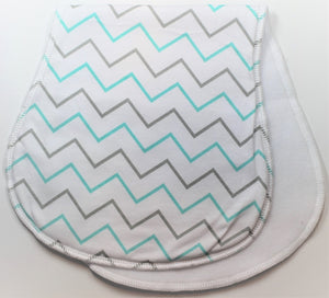 Zig Zag Burp Cloth