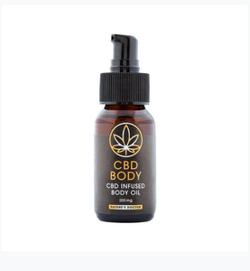 Body oil - cbd-health-south-africa
