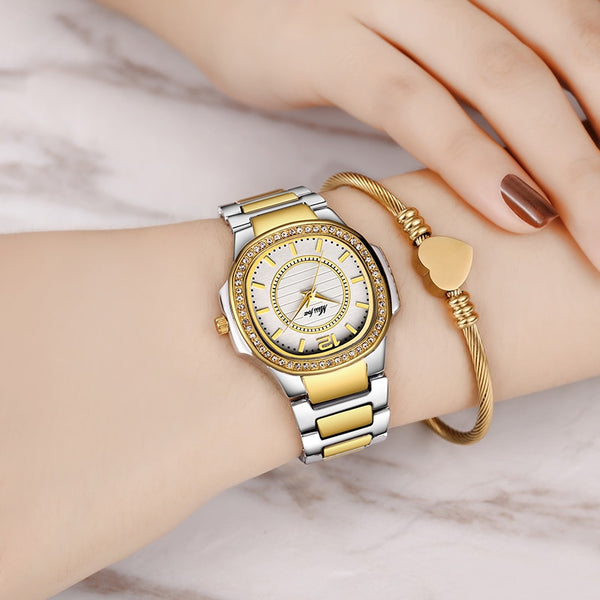 8d96e3b15 ... Geneva Luxury Designer Ladies Gold Watch - Buy Stylish Fashion Watches  Online | That Timepiece ...