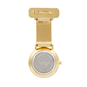 Annie Apple Gold Nurse Fob watch Ladies