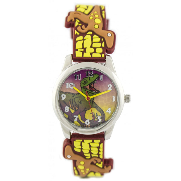 Fun Time Dinosaur Silicon Kids Watch (Raptor)