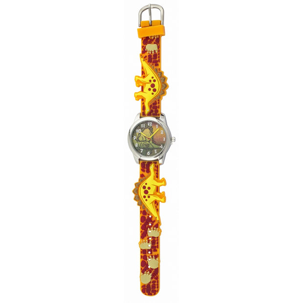 Fun Time Dinosaur Silicon Kids Watch (Stegosaurus)