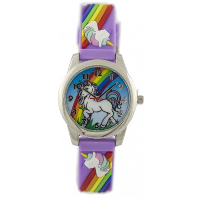 Fun Time Unicorn Silicon Kids Watch