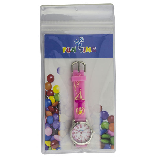 Fun Time Ballerina Silicon Kids Watch
