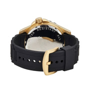 Bermuda Watch Co Shelly Bay Smart Light Black and Gold Watch Mens