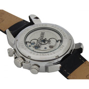 Bermuda Watch Co Somerset Silver, White and Black Automatic Watch Mens