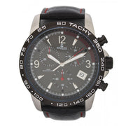 Bermuda Watch Co Warwick Black and Red Chronograph Watch Mens