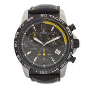 Bermuda Watch Co Warwick Black and Yellow Chronograph Watch Mens